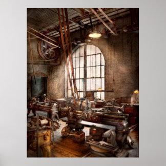 Machinist - I like big tools Poster