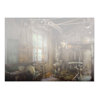 Machinist - Industrial revolution 5x7 Paper Invitation Card
