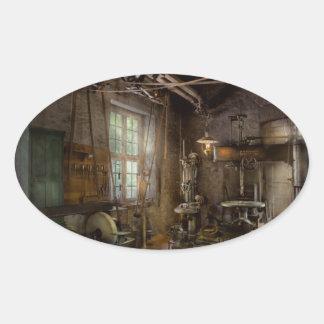 Machinist - Industrial revolution Oval Sticker
