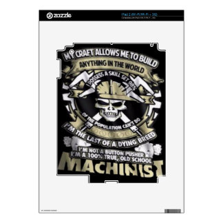 Machinist Ipad2 sleeve Skin For The iPad 2
