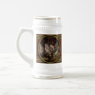 Machinist - Lathe - A long lathe Beer Stein