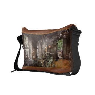 Machinist - Lathe - A long lathe Courier Bag