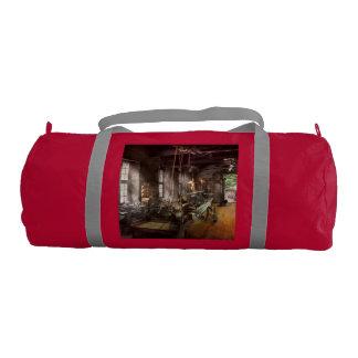 Machinist - Lathe - A long lathe Gym Duffle Bag