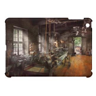 Machinist - Lathe - A long lathe iPad Mini Covers