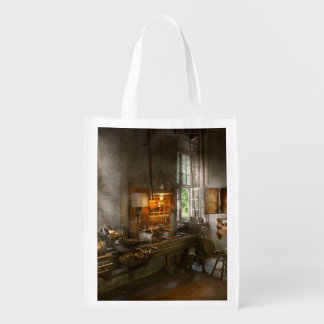 Machinist - Lathes Reusable Grocery Bag