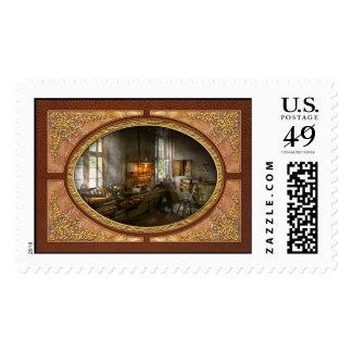 Machinist - Lathes Stamp