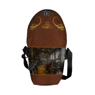 Machinist - Lathes - The original Lather Disc Courier Bag
