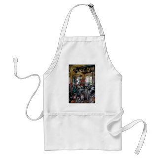 Machinist  - Many old machines Adult Apron