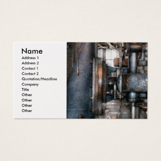 Machinist - My really cool job Business Card