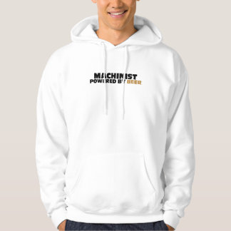 Machinist Powered By Beer Hoodie