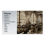 Machinist - Safety First Business Card