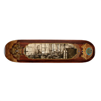 Machinist - Safety First Skate Board