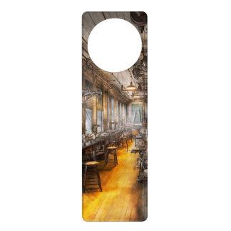 Machinist - Santa's old workshop Door Hangers