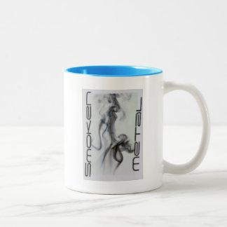 Machinist Smoken Metal Two-Tone Coffee Mug