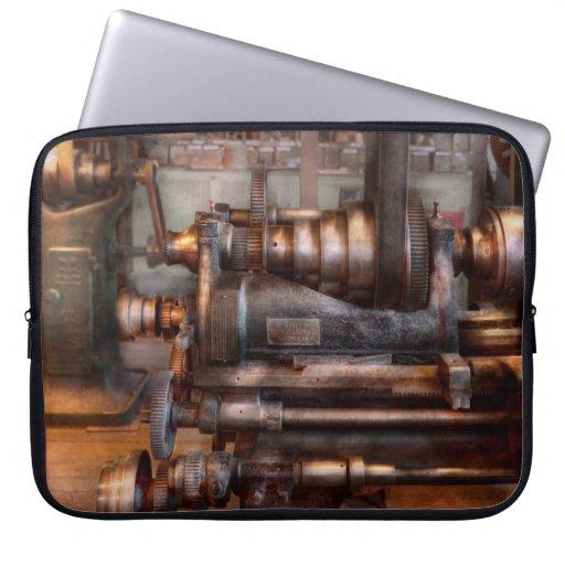 Machinist - Steampunk - 5 Speed Semi Automatic Laptop Sleeve