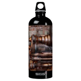 Machinist - Steampunk - 5 Speed Semi Automatic SIGG Traveler 1.0L Water Bottle