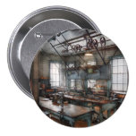 Machinist - Steampunk - The contraption room 3 Inch Round Button