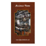 Machinist - Steampunk - The contraption room Double-Sided Standard Business Cards (Pack Of 100)