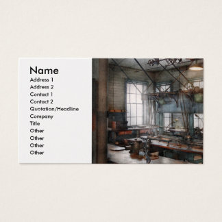 Machinist - Steampunk - The contraption room Business Card