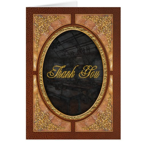 Machinist - Steampunk - The contraption room Greeting Card