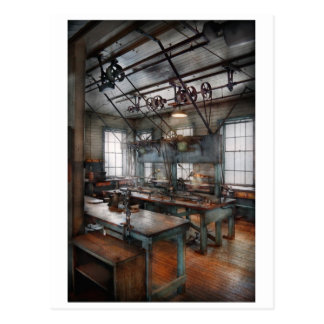 Machinist - Steampunk - The contraption room Postcard