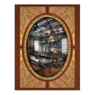 Machinist - Steampunk - The contraption room Post Card