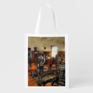 Machinist - The standard way 1915 Grocery Bags