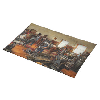 Machinist - The standard way 1915 Placemat