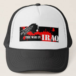 Machinists Labor Against the War in Iraq Trucker Hat