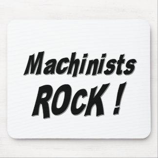 Machinists Rock! Mousepad