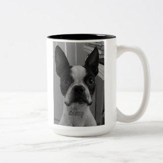 Machista la taza de café de Boston Terrier