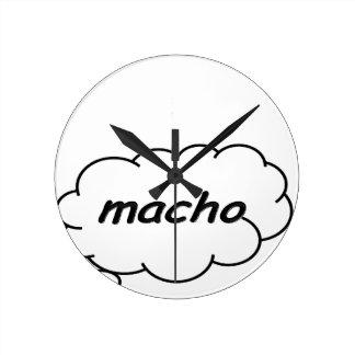 Machista Reloj Redondo Mediano
