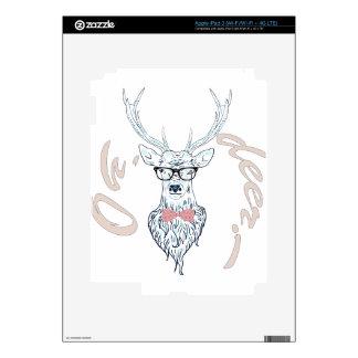 Macho 04 del inconformista pegatinas skins para iPad 3