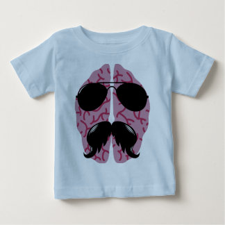 Macho Brain Baby T-Shirt