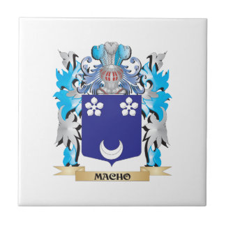 Macho Coat of Arms - Family Crest Tile
