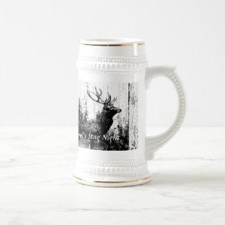 Macho de encargo del diseño del vintage, despedida taza de café