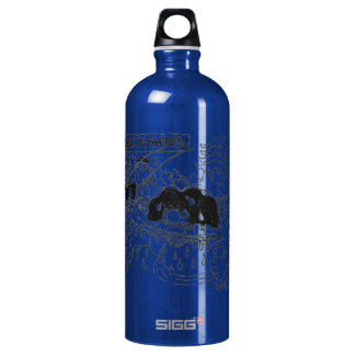 Macho Dishing! Aluminum Water Bottle
