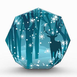 Macho en el invierno Forest2