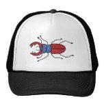 macho-escarabajo gorras