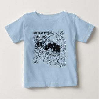 Macho fishing! t shirts
