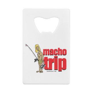 Macho Logo Credit Card Opener
