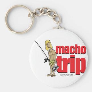 Macho Logo Keychain
