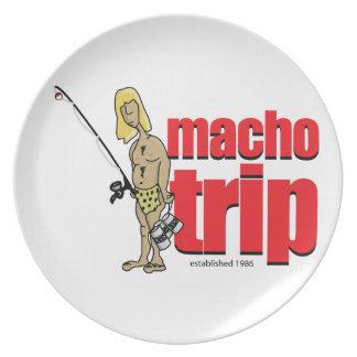 Macho Logo Plate