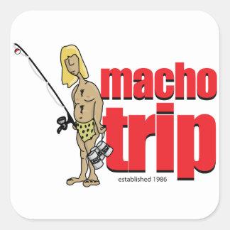 Macho Logo Stickers