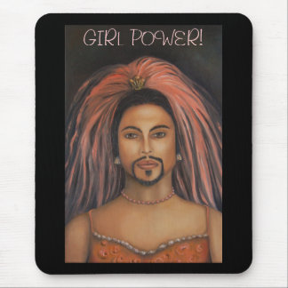 Macho_Man #2/Girl Power! Mouse Pad