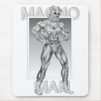 Macho Man Mouse Pad