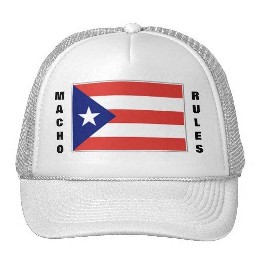 MACHO RULES HATS