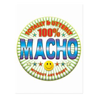 Macho Totally Postcard