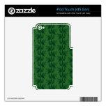 Macho verde iPod touch 4G calcomanía