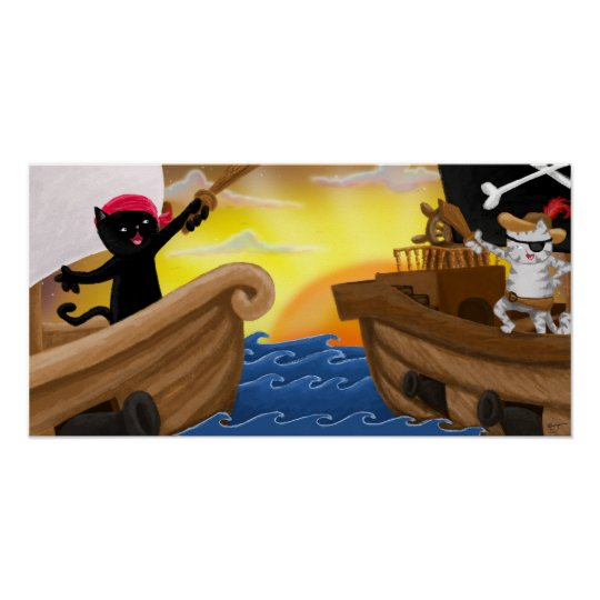 Machu and Jack at Sea Poster